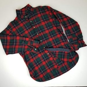 Pendleton Wool Plaid Button Down Shirt